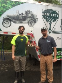 Our lively crew took second place in the Dogwood Spirit Awards at the Dogwood Festival Parade in Charlottesville, VA.