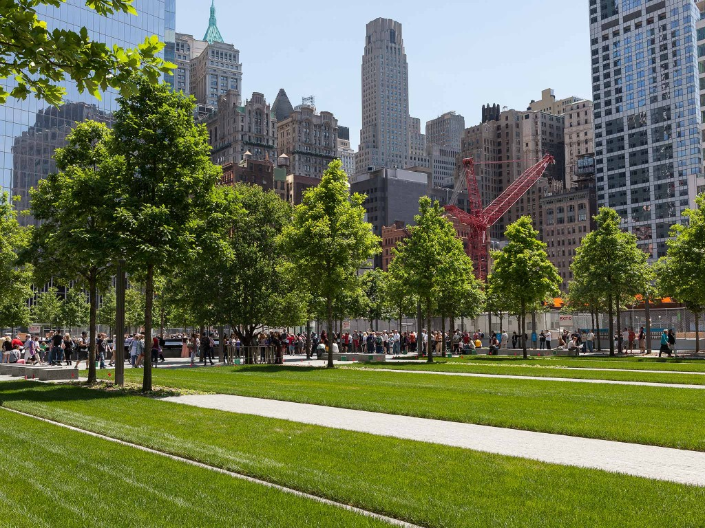Bartlett's care for the 9/11 Memorial includes inspections of every tree on a weekly basis, as well as after any major weather event.