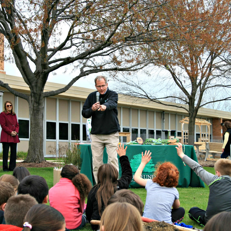 Arbor Day at Elmwood School