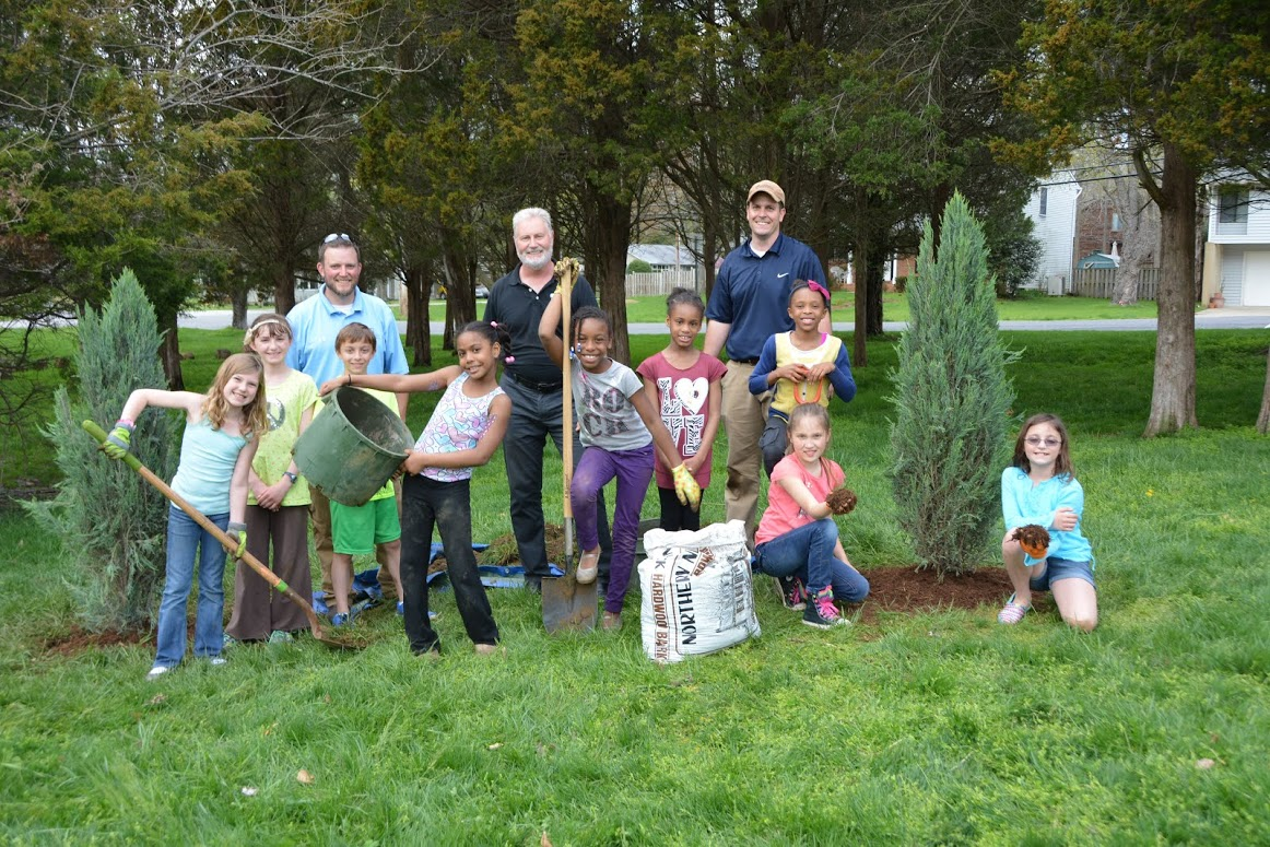 Celebrating Earth Day with local Brownies