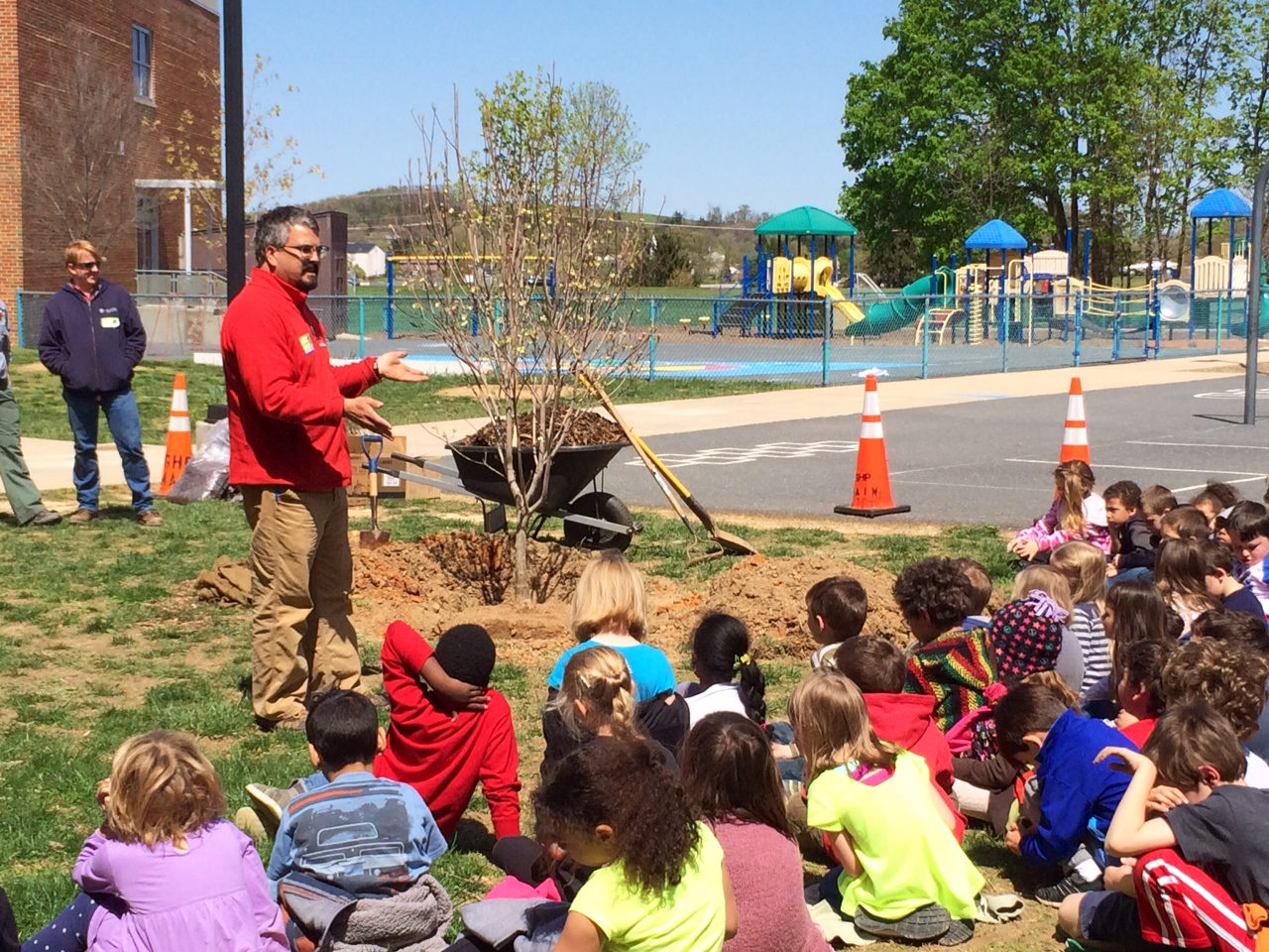 Arbor Day at McSwain Elementary